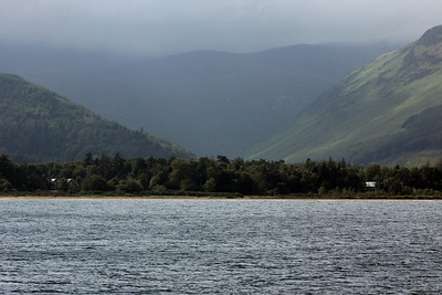 Glen Rosa from Brodick Bay. 5 July 2011