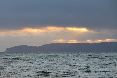 North Arran and Blackwaterfoot - 1 Janaury 2012