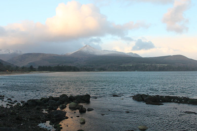 Windy Brodick - 3 January 2012