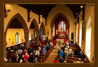 St. Mary's Beauly - Sunday, 19 June 2016