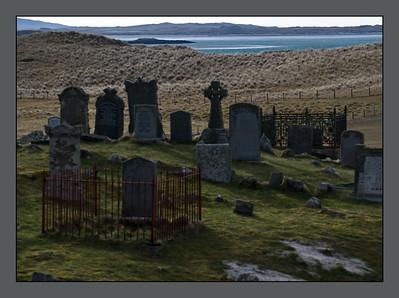 North Uist, Clachan, Old Grave Yard