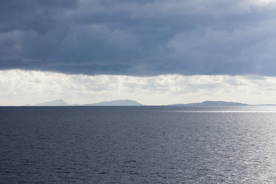 The Outer Hebrides from the Tarbert-Uig ferry
