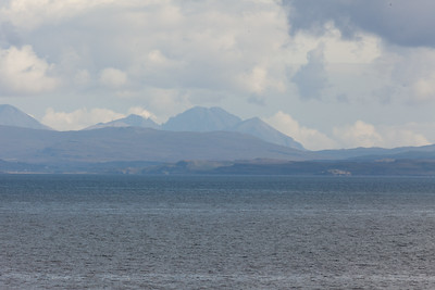 The Cullins from the Little Minch