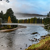 Footbridge near Invercauld