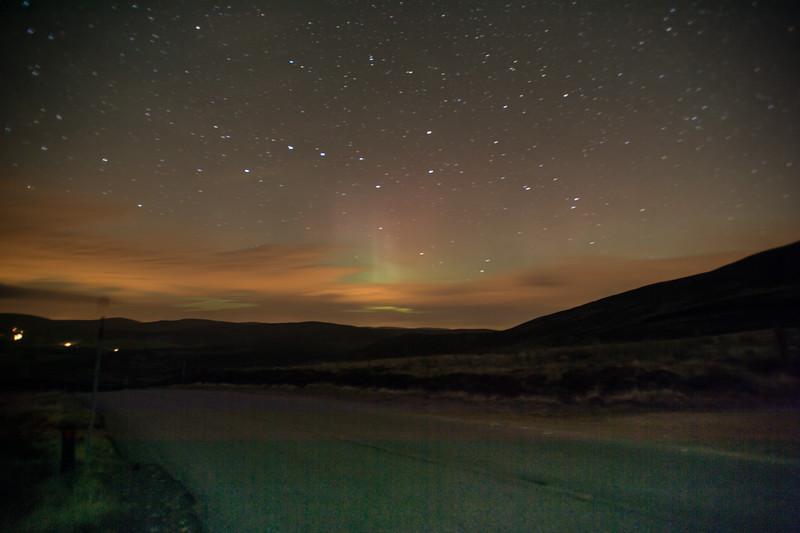 Aurora Borealis - well nearly!