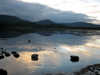A peaceful Loch Morlich