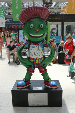 Clyde at Central Station. 25 July 2014