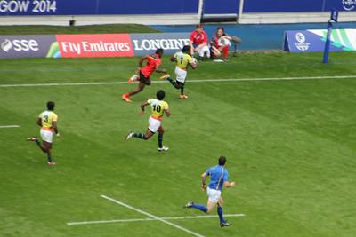Match 27: Papua New Guinea (17) v. Sri Lanka (12)