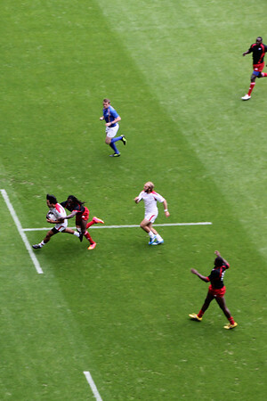 Match 25: Canada (33)  v. Trinidad and Tobago (7)