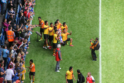 The Malaysian Team on a lap of the ground.