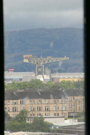 Clydeside Crane from the Club Deck