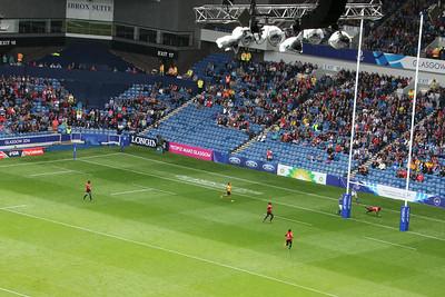 Match 26: Uganda (35) v. Malaysia (0)