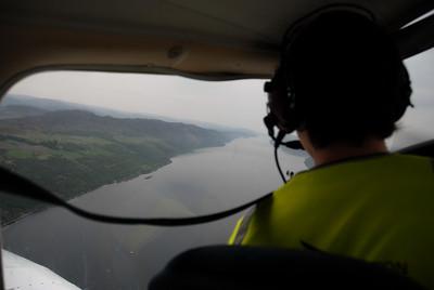 The Great Glen, Loch Ness, towards east