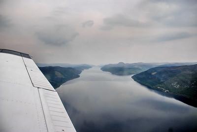The Great Glen, Loch Ness, towards west