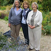 Jody, Phyllis and Penny at the Fernery. Nigel and James in attendance but unrecorded.