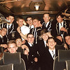 Rugby bus back from Aberdeen after playing Aberdeen Grammar School