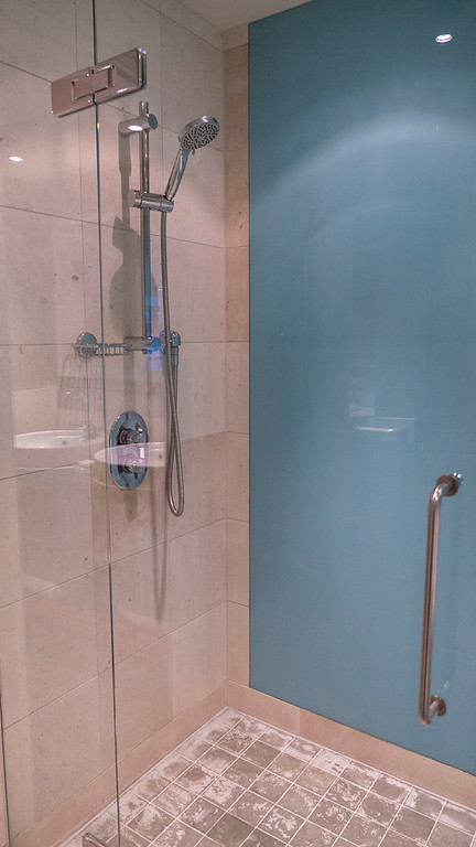 The Glasshouse Hotel in Edinburgh: The Shower