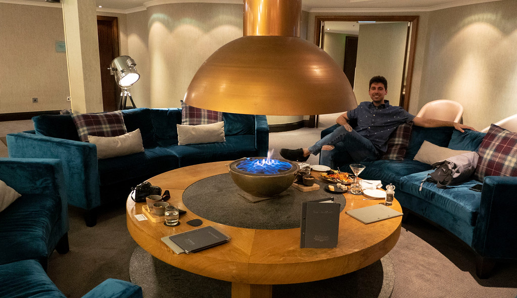 The Glasshouse Hotel in Edinburgh: The Snug