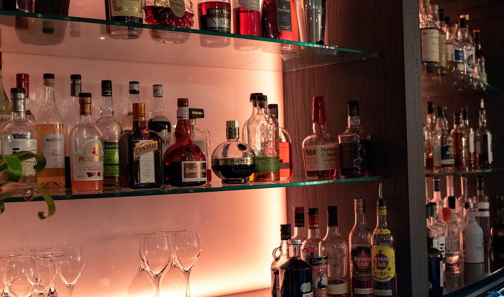 The Glasshouse Hotel in Edinburgh: The Snug bar