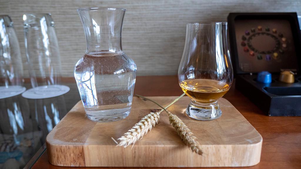The Glasshouse Hotel in Edinburgh: Glenfiddich Whisky