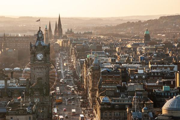 Edinburgh Prince's Street
