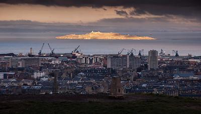 Leith cityscape