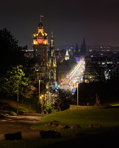 Prince's Street from Calton Hill