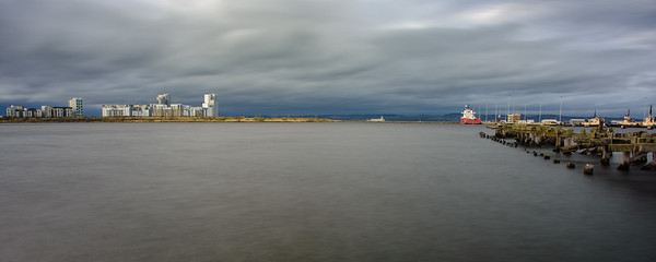 Western Harbour in Leith