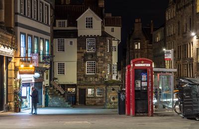 John Knox House on Edinburgh's Royal Mile