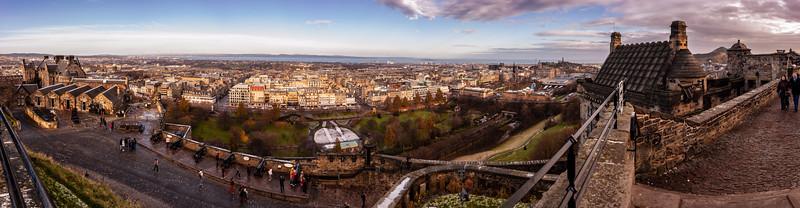 Edinburgh Castle viewpoint