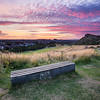 Sunset Overlooking Arthur's Seat Taken from Queen's Drive