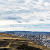 Overlooking Edinburgh from Arthur's Seat