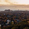 Edinburgh Skyline Taken from Blackford Hill at Sunrise