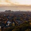 Edinburgh Skyline Taken from Blackford Hill at Sunrise