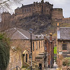 Edinburgh Castle Taken from The Vennel Steps
