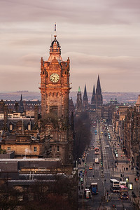 First Light Over the Balmoral Clock Tower