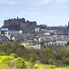 Edinburgh Castle taken from Arthur's Seat