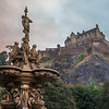The Ross Fountain & Edinburgh at Sunrise