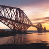 The Forth Bridge at Sunrise