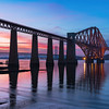The Forth Bridge During Twilight
