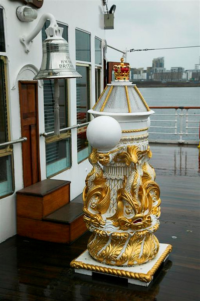 The Binnacle and Yacht's Bell