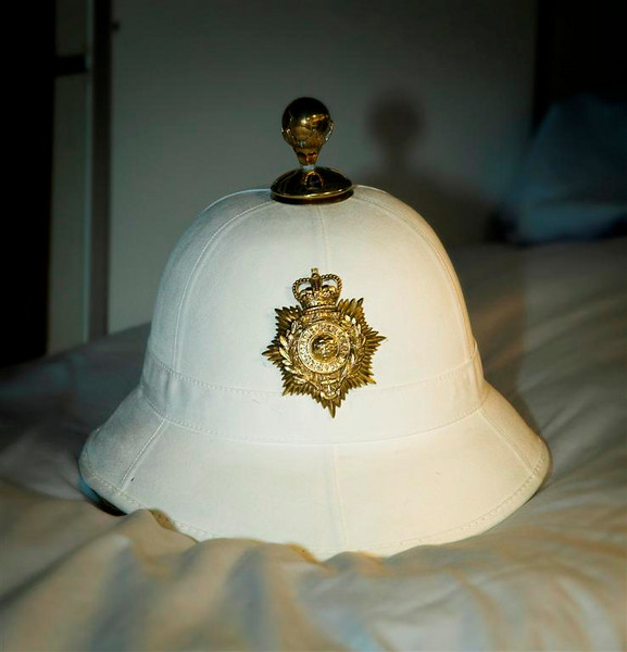 Royal Marine Bandsman's Helmet
