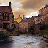 Winter Sunrise Overlooking Dean Village & The Water of Leith