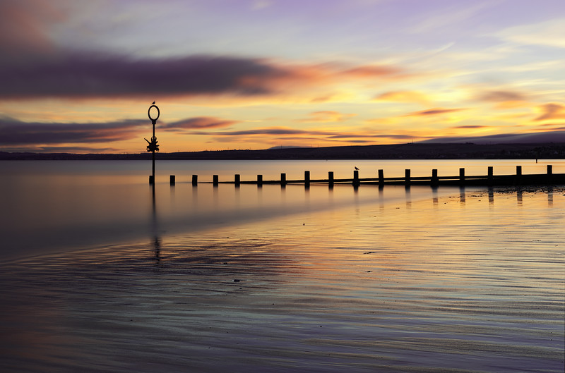 Sunrise Overlooking Portobello Beach