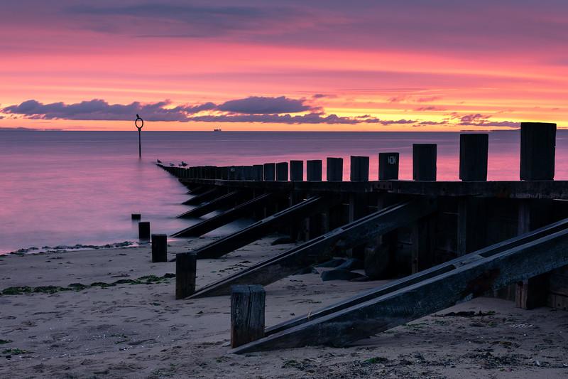 Sunrise Overlooking Portobello Beach
