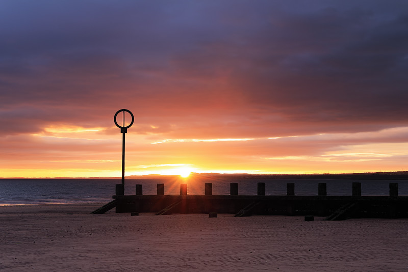 First Light Over Portobello Beach