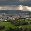 Story Day Overlooking the Pentlands and Prestonfield Golf Course