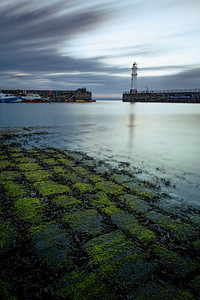 Overcast Day at Newhaven Harbour