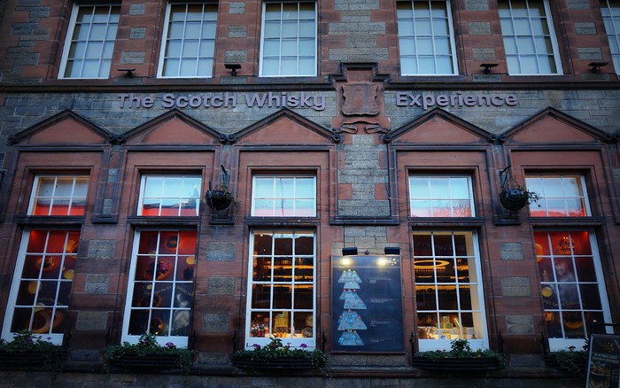 Scotch Whisky Experience in Edinburgh, Scotland.