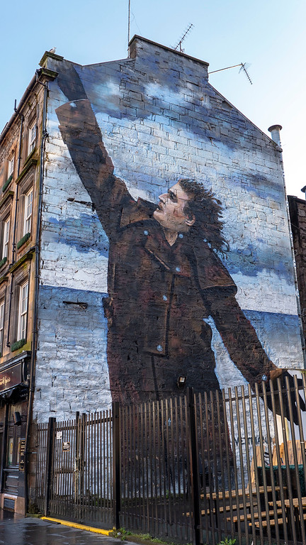 Street Art in Glasgow: Dr Connolly I Presume?